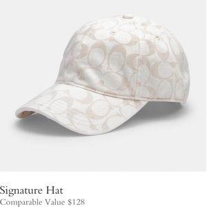 Coach Signature Baseball Cap